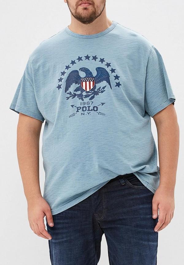 Футболка Polo Ralph Lauren Big & Tall Polo Ralph Lauren Big & Tall PO022EMBXFV3 футболка детская polo by ralph lauren 2015 polo polo 4ml