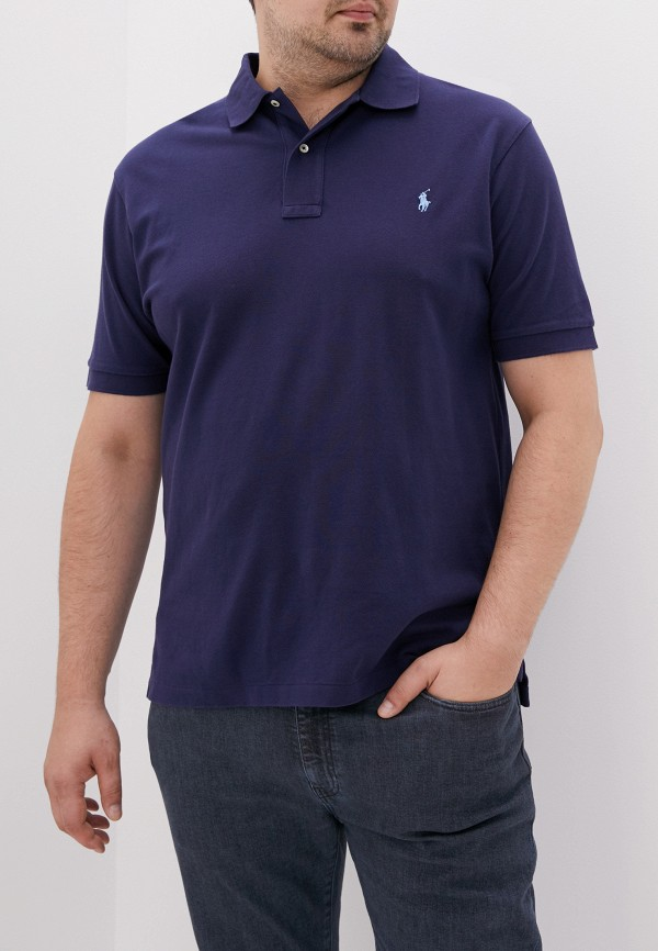 Поло Polo Ralph Lauren Big & Tall Polo Ralph Lauren Big & Tall PO022EMFNAM1 цена и фото