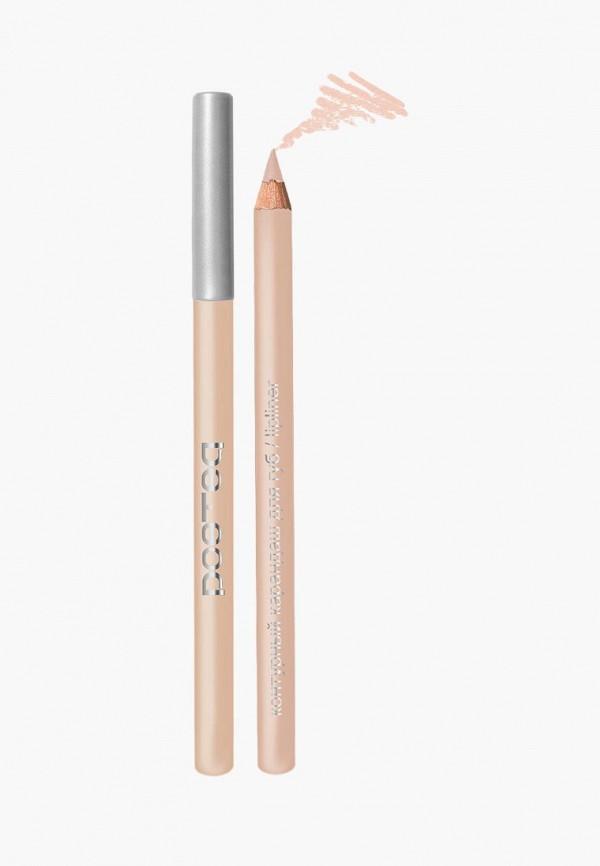 карандаш для губ poeteq, бежевый