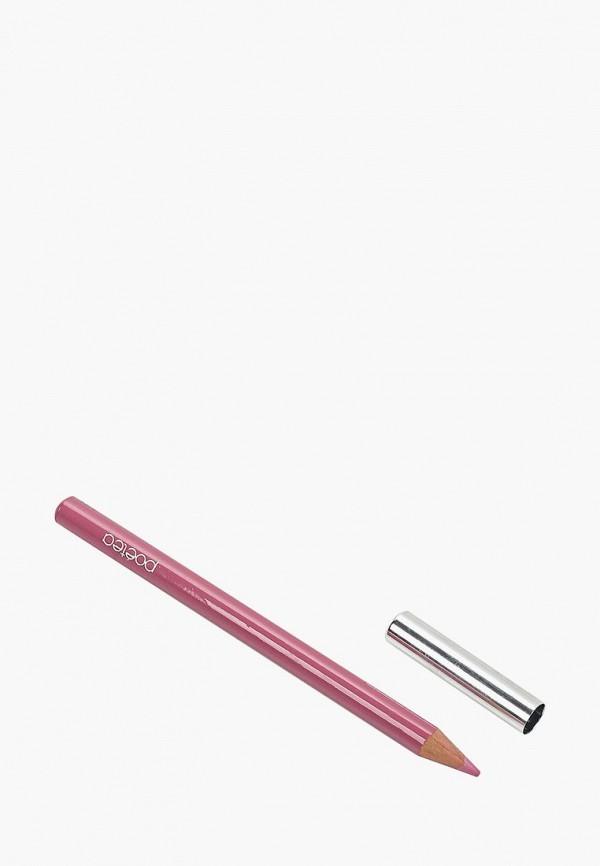 карандаш для губ poeteq, розовый