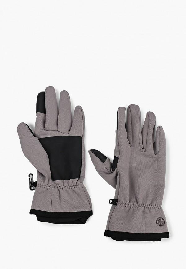 женские перчатки poivre blanc, серые