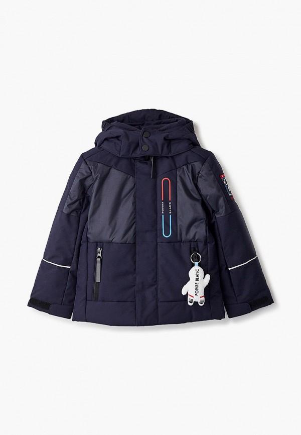 куртка poivre blanc для мальчика, синяя