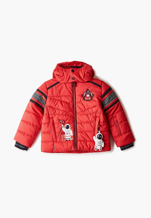 куртка poivre blanc для мальчика, красная