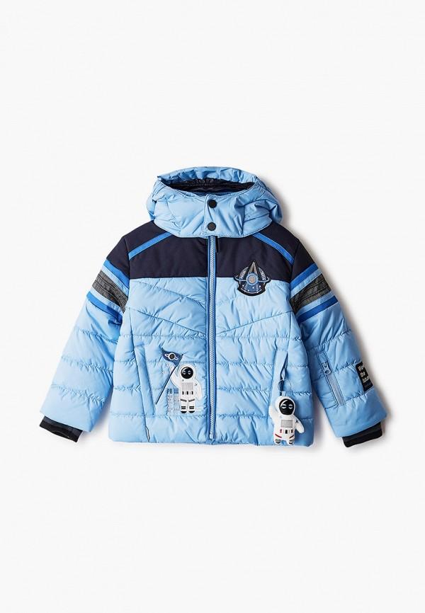 куртка poivre blanc для мальчика, голубая