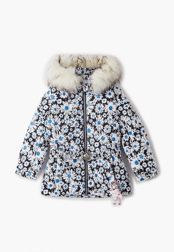 куртка poivre blanc для девочки, разноцветная