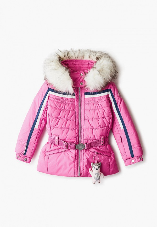 куртка poivre blanc для девочки, розовая