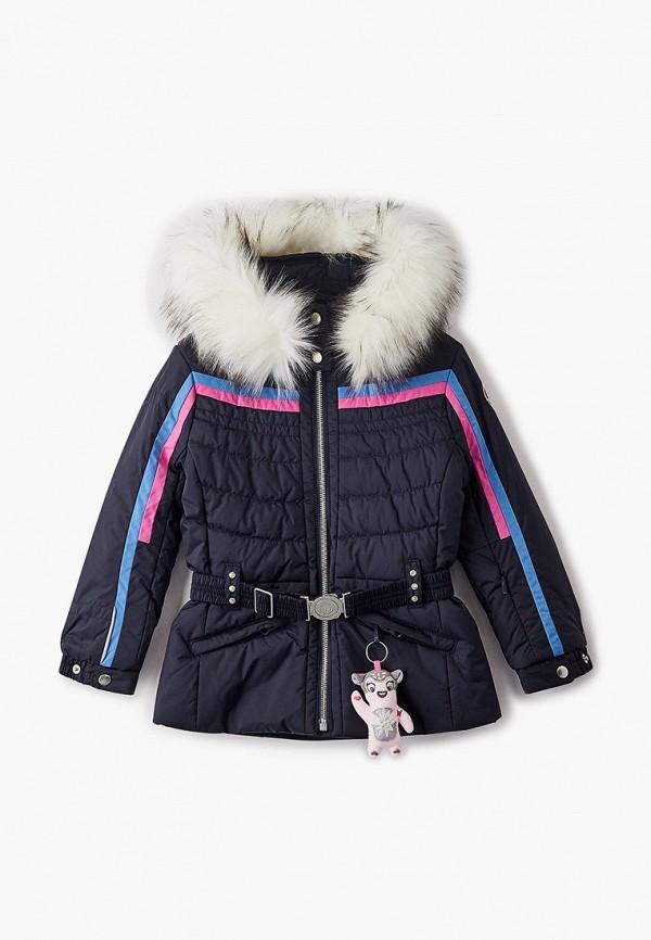 куртка poivre blanc для девочки, черная