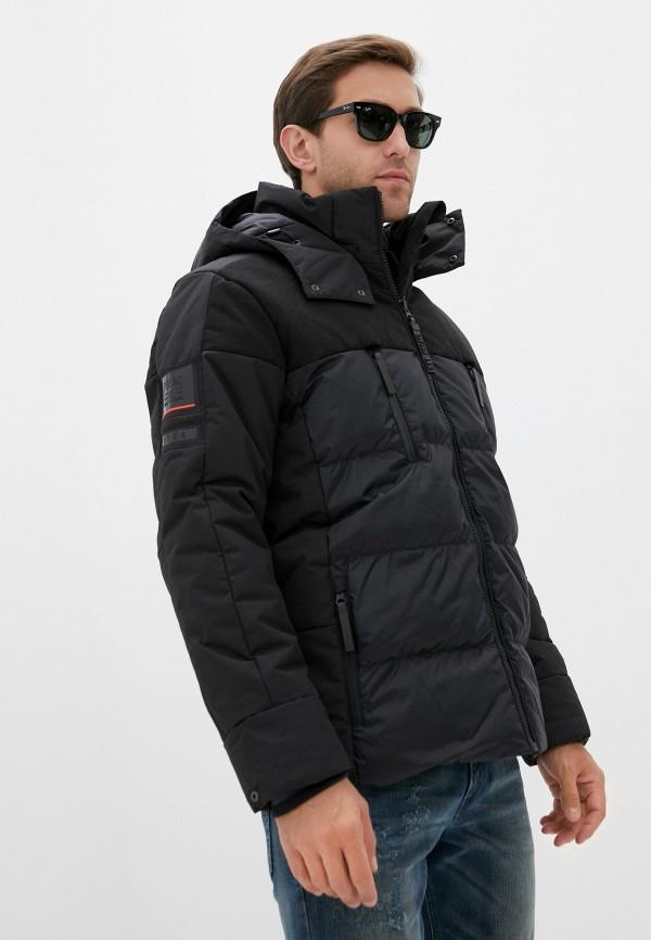 мужская куртка poivre blanc, черная