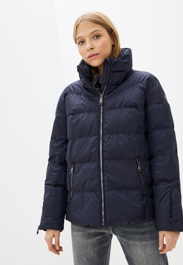 женская куртка poivre blanc, синяя