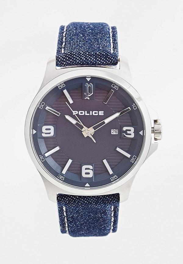 мужские часы police, синие