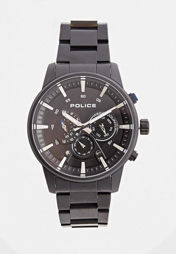 мужские часы police, черные