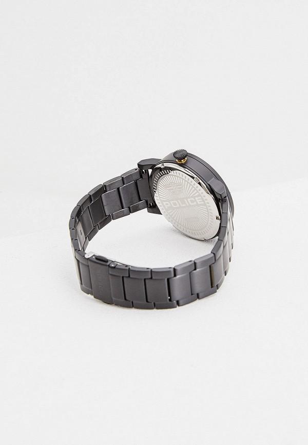 Фото 2 - Мужские часы Police черного цвета