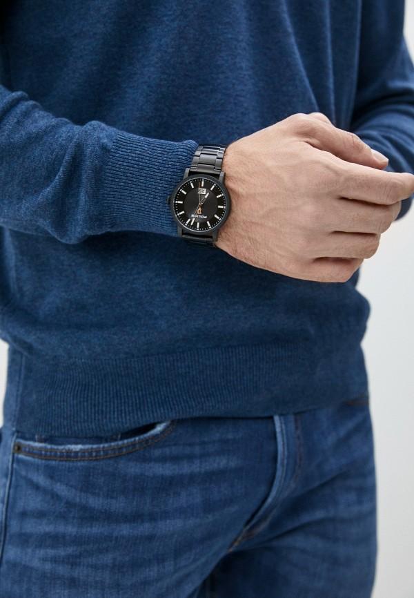 Фото 5 - Мужские часы Police черного цвета