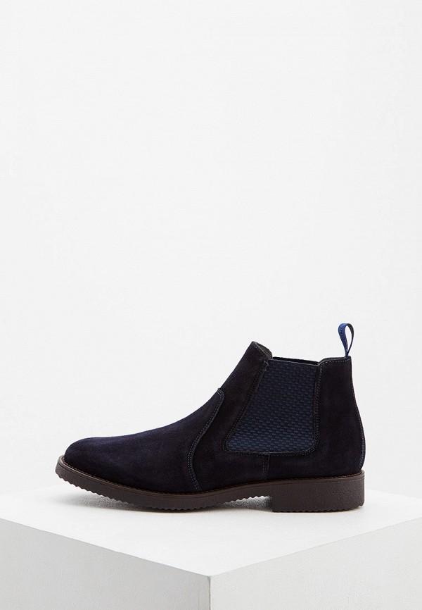 мужские ботинки pollini, синие