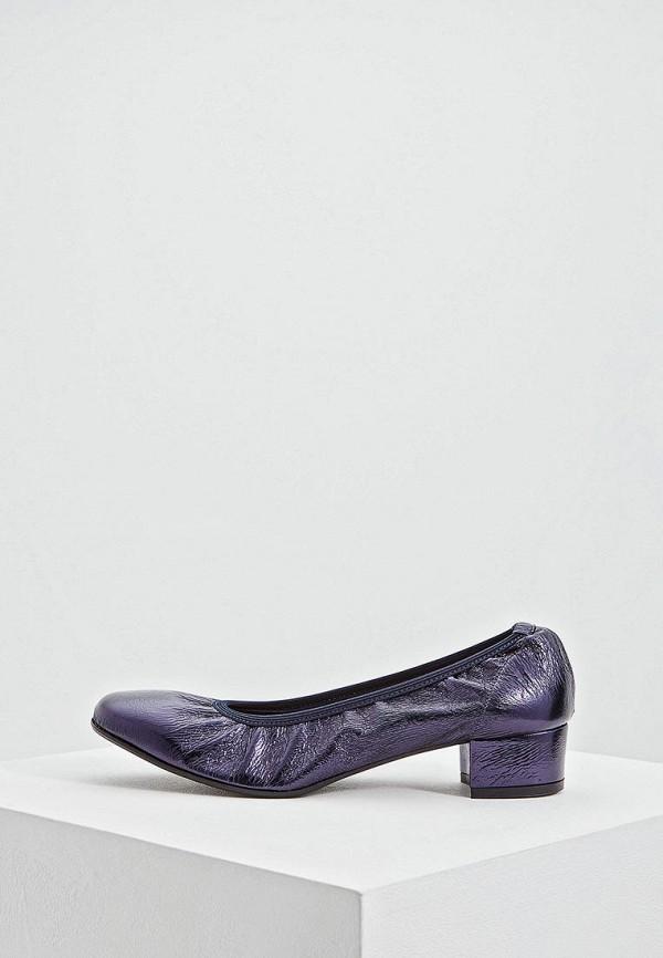 женские туфли pollini, фиолетовые