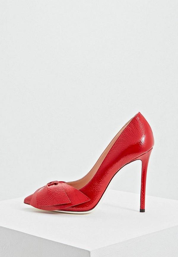 женские туфли pollini, красные