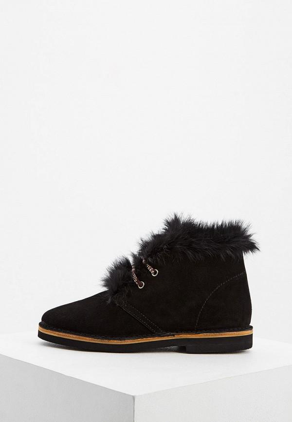 женские ботинки pollini, черные