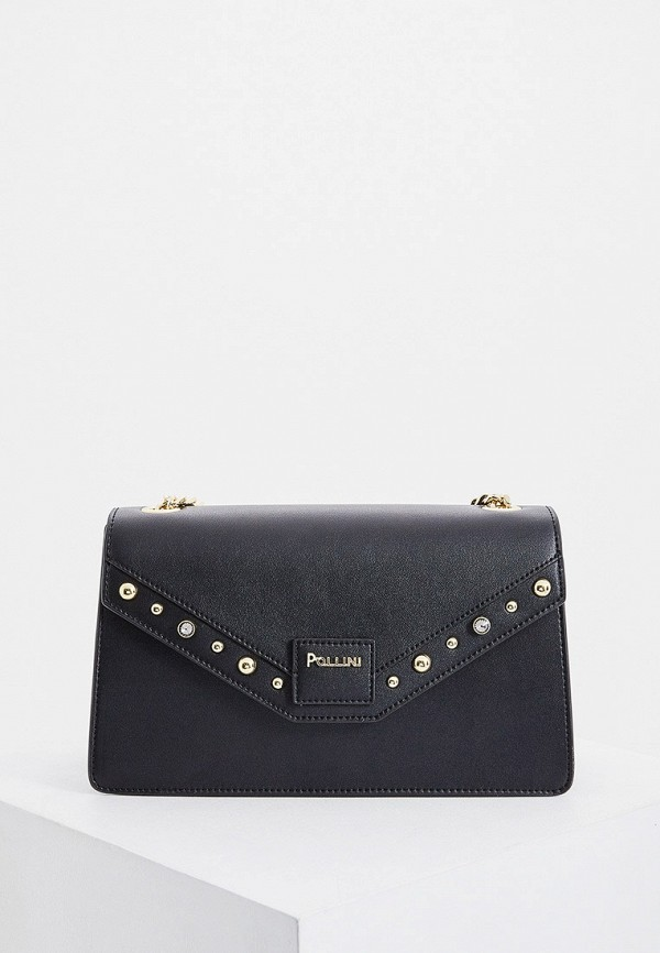 женская сумка pollini, черная