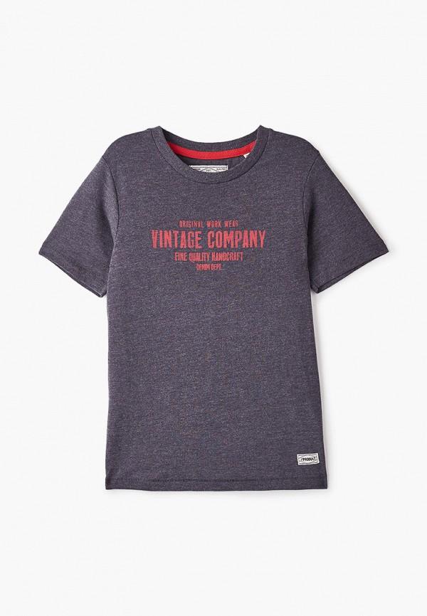 футболка с коротким рукавом produkt для мальчика, синяя