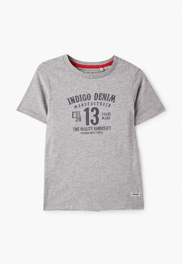 футболка с коротким рукавом produkt для мальчика, серая