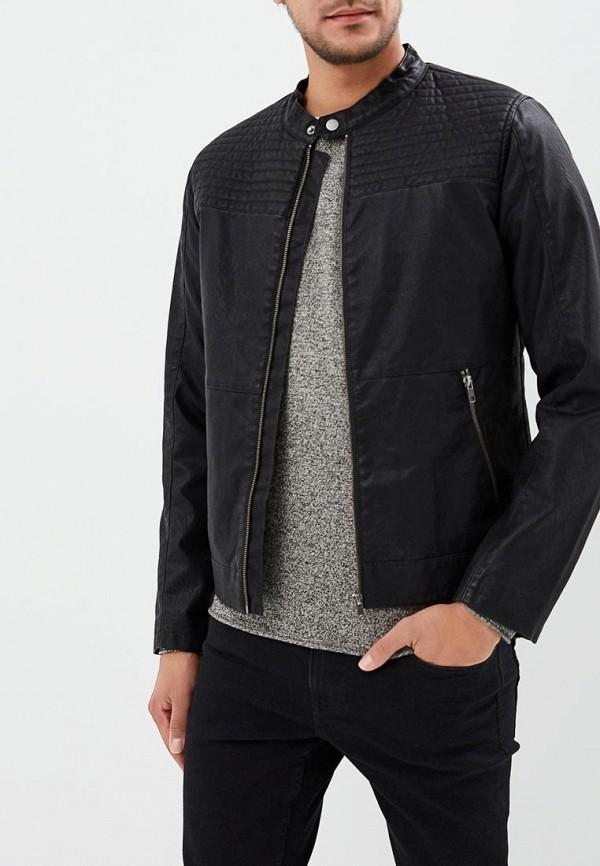 Купить Куртка кожаная Produkt, PR030EMBKOG7, черный, Осень-зима 2018/2019