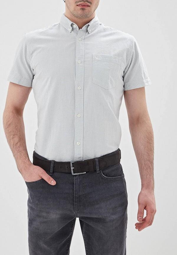 мужская рубашка с коротким рукавом produkt, серая