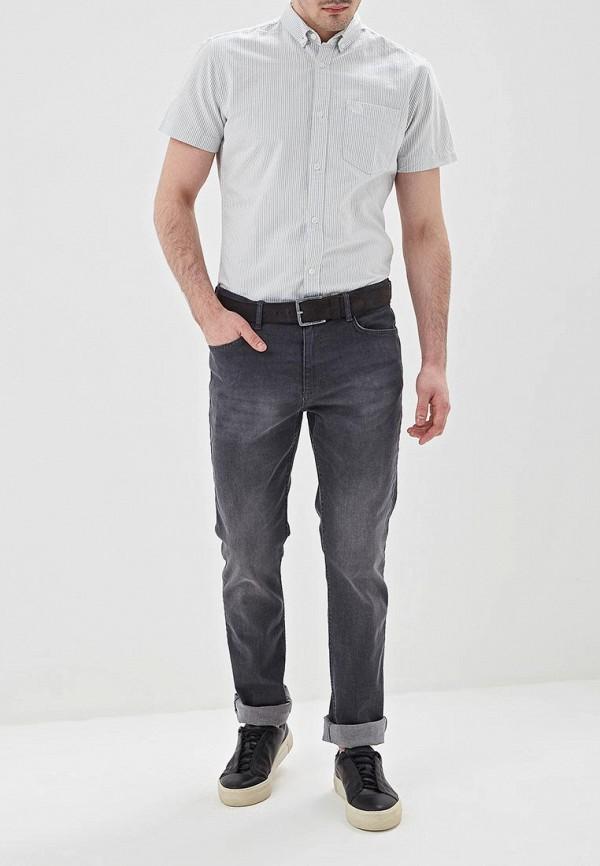 Фото 2 - мужскую рубашку Produkt серого цвета