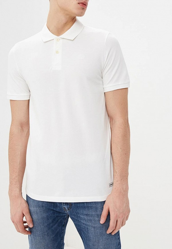 Фото - мужское поло Produkt белого цвета