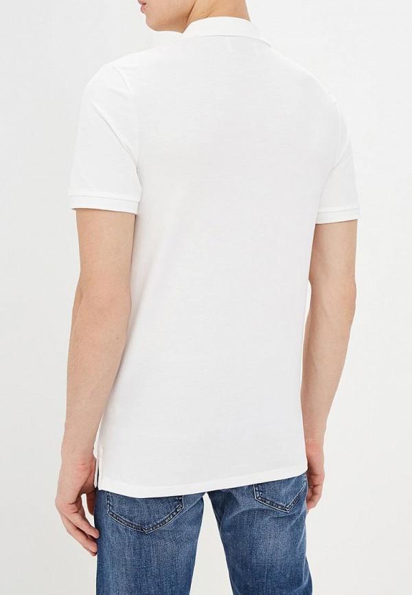 Фото 3 - мужское поло Produkt белого цвета