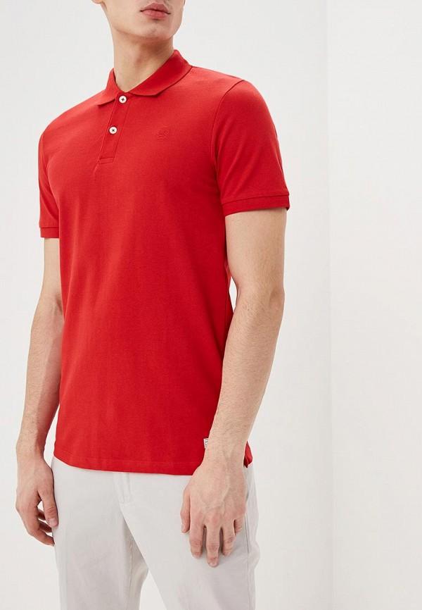 мужское поло produkt, красное
