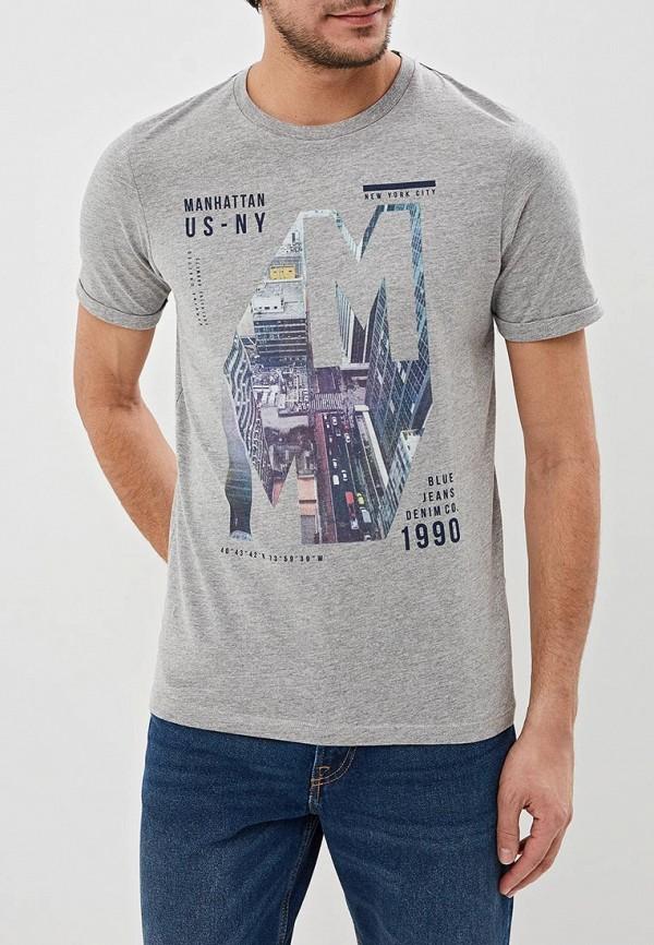Купить Футболка Produkt, pr030emecnj4, серый, Весна-лето 2019