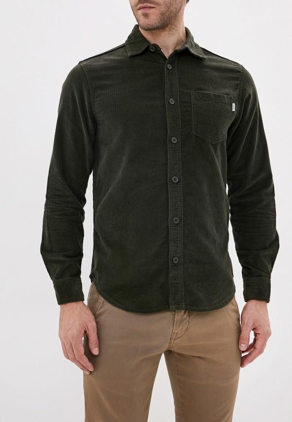 мужская рубашка с длинным рукавом produkt, хаки