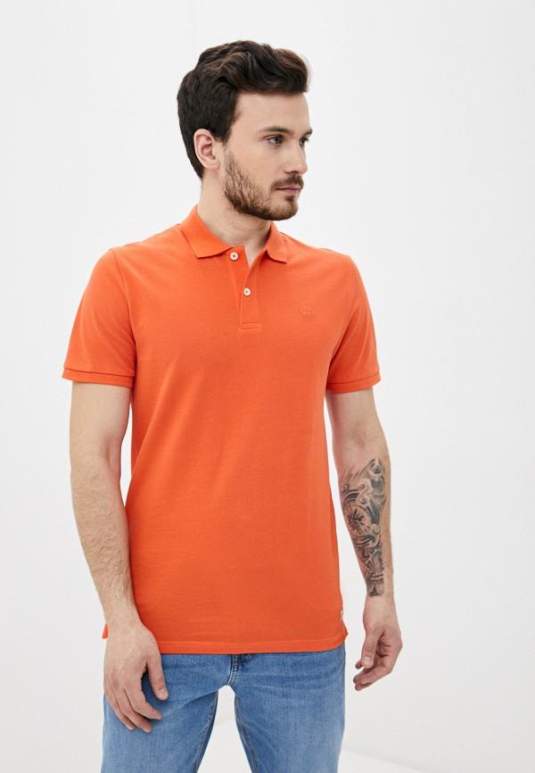 мужское поло produkt, оранжевое