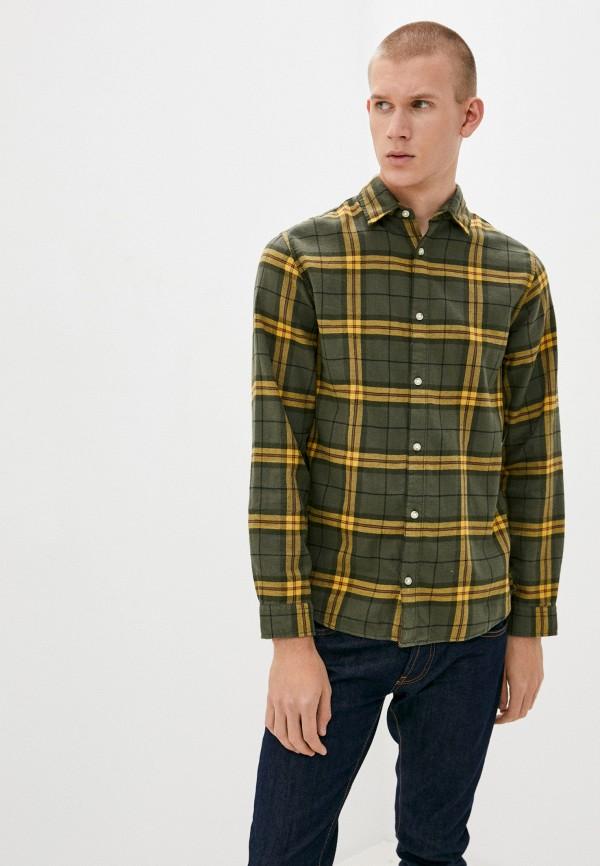 мужская рубашка с длинным рукавом produkt, зеленая