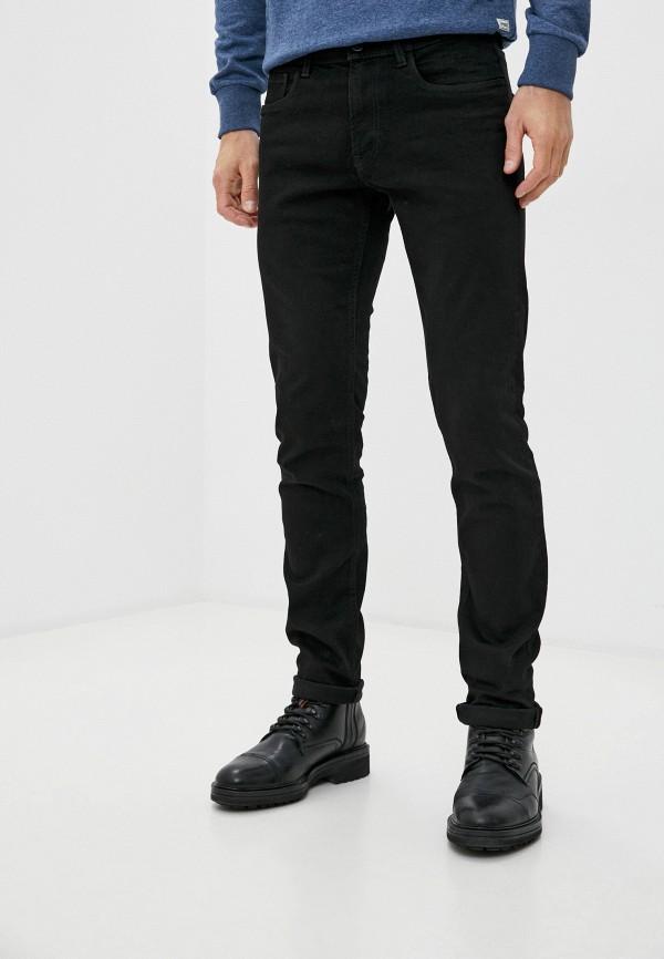 мужские прямые джинсы produkt, черные