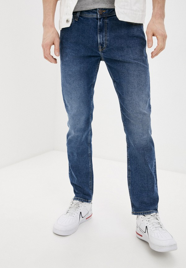 мужские зауженные джинсы produkt, синие