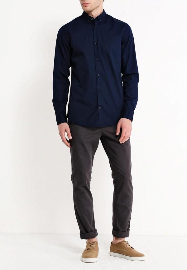 Фото 2 - мужскую рубашку Produkt синего цвета