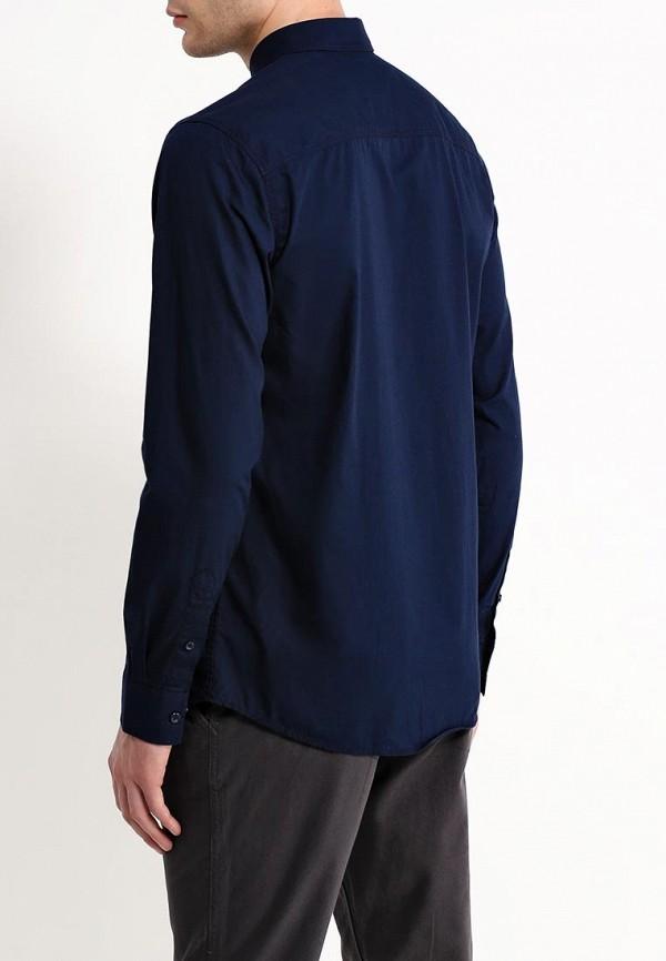 Фото 3 - мужскую рубашку Produkt синего цвета