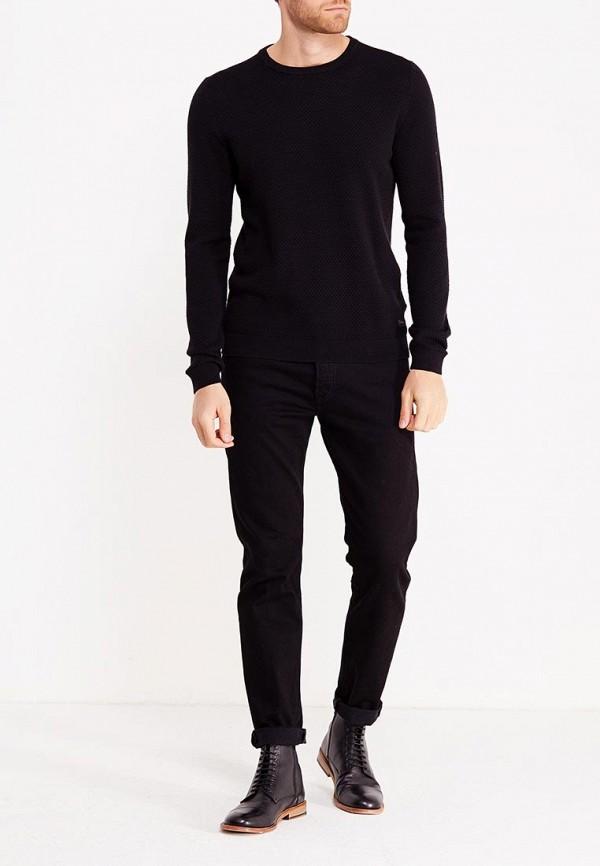 Фото 2 - мужское джемпер Produkt черного цвета