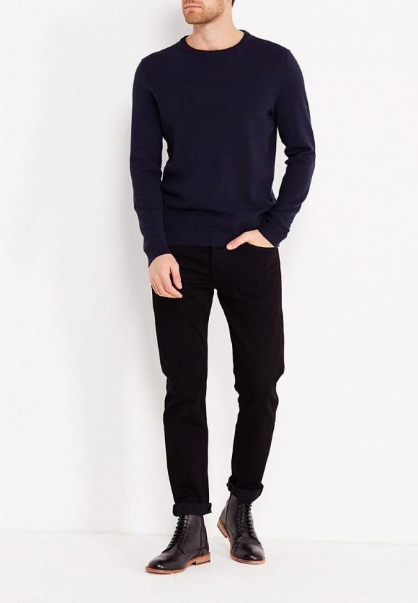 Фото 2 - мужское джемпер Produkt синего цвета