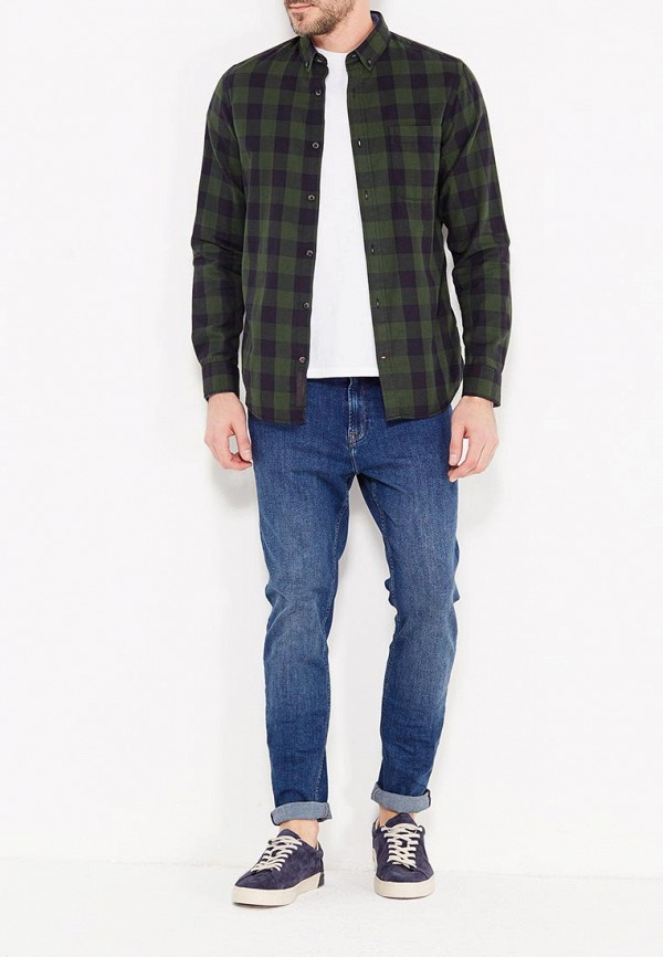 Фото 2 - мужские джинсы Produkt синего цвета