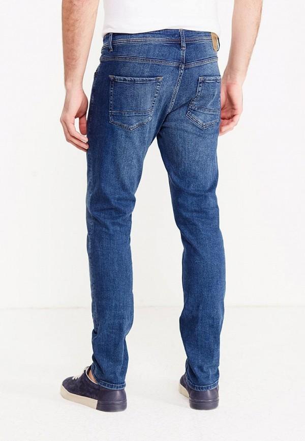 Фото 3 - мужские джинсы Produkt синего цвета