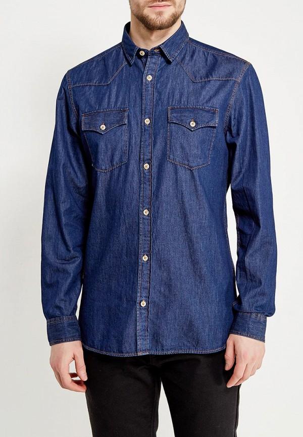 мужская джинсовые рубашка produkt, синяя