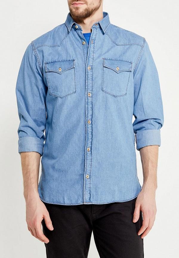 мужская джинсовые рубашка produkt, голубая