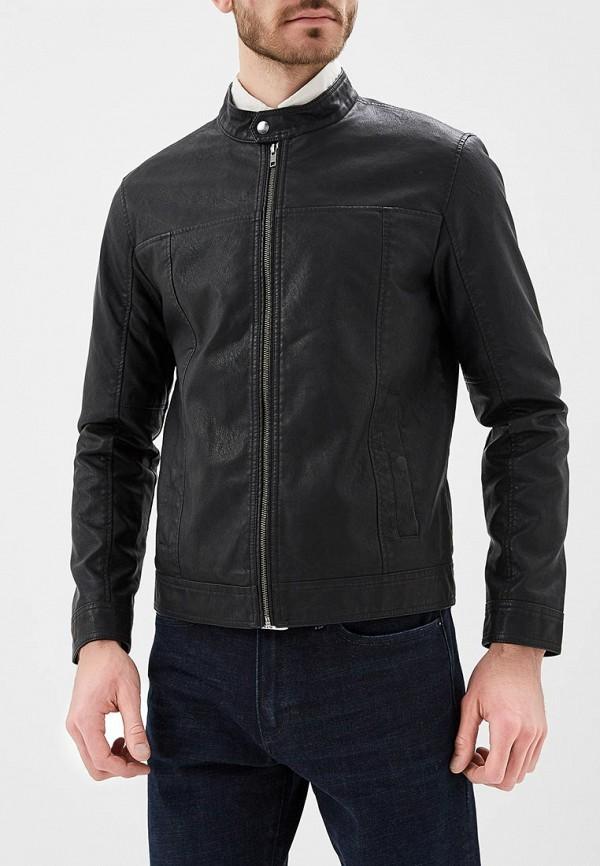 Купить Куртка кожаная Produkt, PR030EMZYM58, черный, Осень-зима 2018/2019