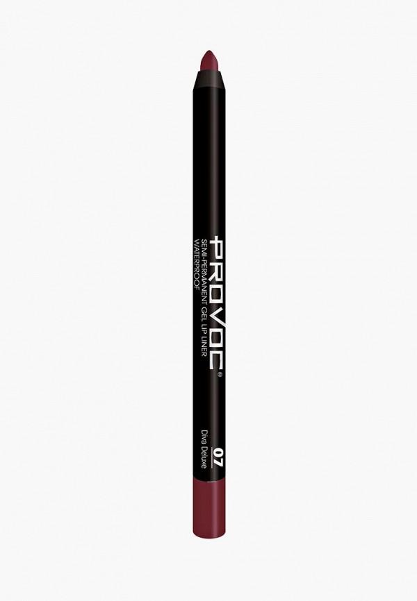 Карандаш для губ Provoc Provoc PR031LWZYE95 карандаш для бровей provoc provoc pr031lwzyh46