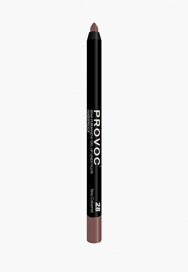 Карандаш для губ Provoc Provoc PR031LWZYF12 карандаш для бровей provoc provoc pr031lwzyh46