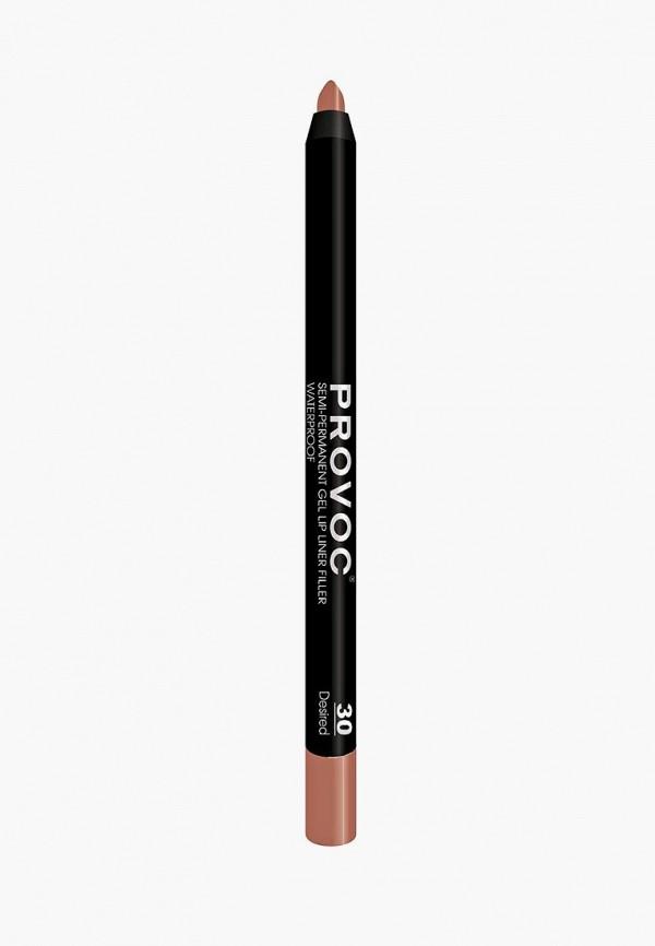 Карандаш для губ Provoc Provoc PR031LWZYF14 карандаш для бровей provoc provoc pr031lwzyh46