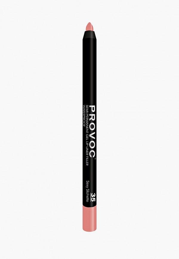 Карандаш для губ Provoc Provoc PR031LWZYF18 карандаш для бровей provoc provoc pr031lwzyh46