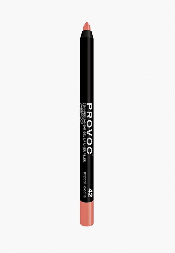 Карандаш для губ Provoc Provoc PR031LWZYF22 карандаш для бровей provoc provoc pr031lwzyh46